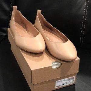Ugg - Beige Lynley Ballet Flat - New